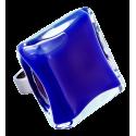 Glass ring - Carré Giga Milk