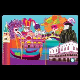 Placemat - Set my city - Venice