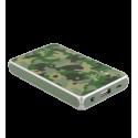 Batteria portatile 5000mAh - Get The Power 2 Camouflage Blue