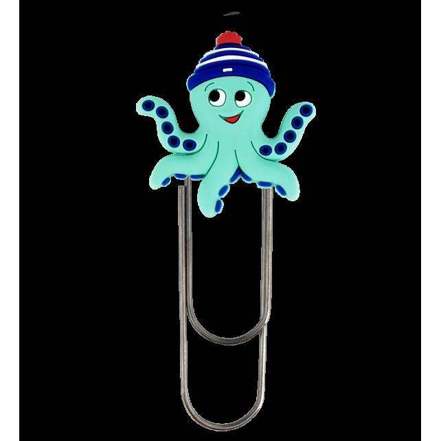 Large bookmark - Ani-bigmark Octopus