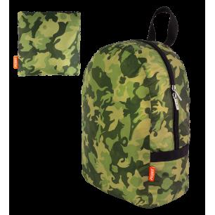 Faltbarer Rucksack - Pocket Bag - Camouflage Green