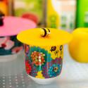 Couvercle silicone pour mug - Bienauchaud Tour Eiffel Rose