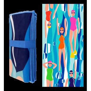 Serviette microfibre - Body DS Adultes - Swimming Pool