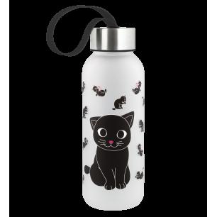 Trinkflasche 42 cl - Happyglou small Kinder - Katze