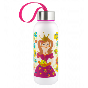 Trinkflasche 42 cl - Happyglou small Kinder - Princesse