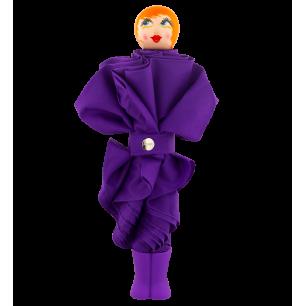 Compact umbrella - Rain Parade - Purple