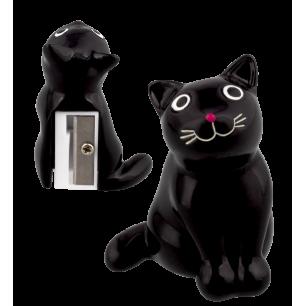 Anspitzer - Zoome sharpener - Schwarze Katze