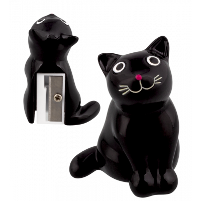 Taille crayon - Zoome sharpener - Chat noir