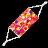 Mascherina in tessuto lavabile e riutilizzabile - Mascherina barriera Pompon