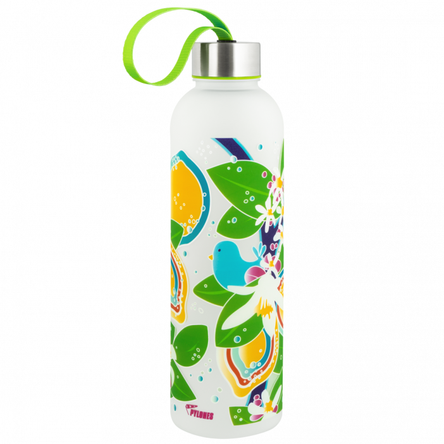 Trinkflasche - Happyglou Large Lemon