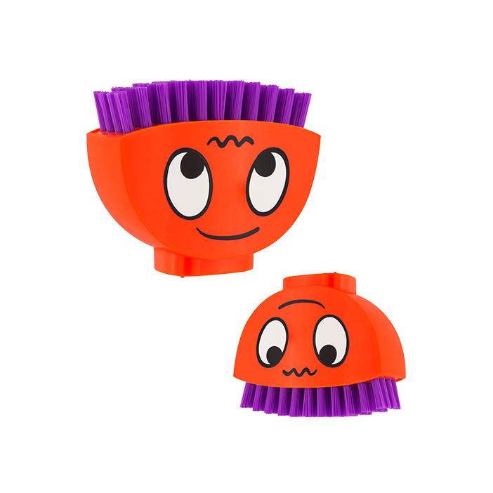 Happy Brush - Brosse à ongles Orange