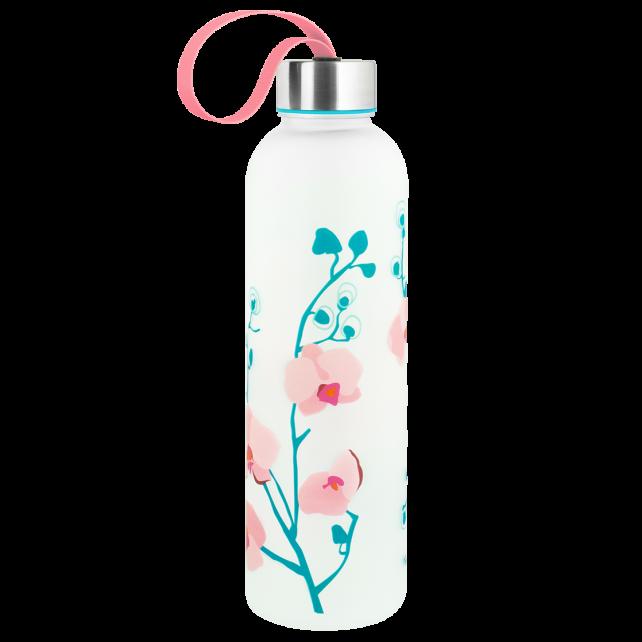 Flask - Happyglou Large Orchid Blue