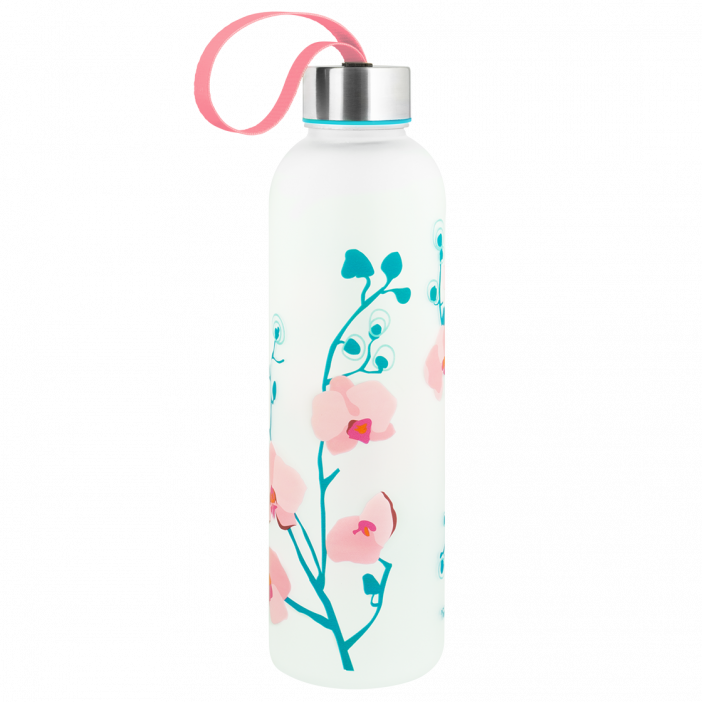 Trinkflasche - Happyglou Large Orchid Blue