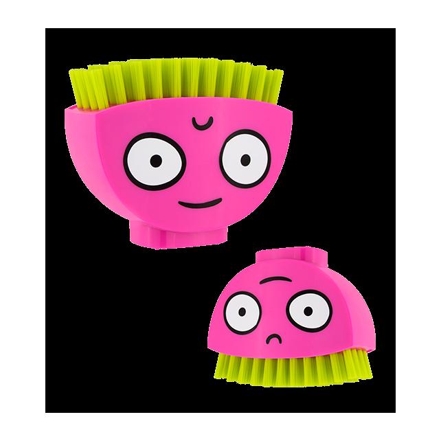 Spazzolino per unghie - Happy Brush Rosa