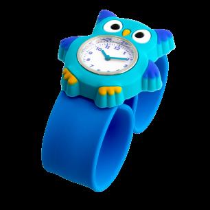 Slap-Uhr - Funny Time - Eule