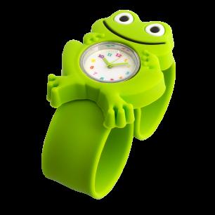 Slap-Uhr - Funny Time - Frosch