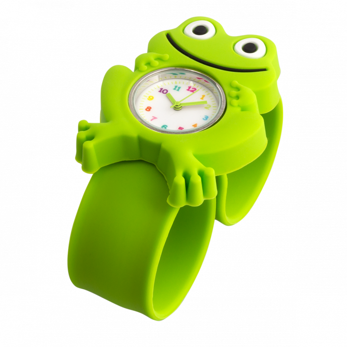 Slap watch - Funny Time Frog