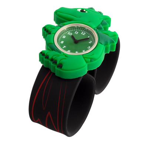 Montre slap - Funny Time - Dragon Vert