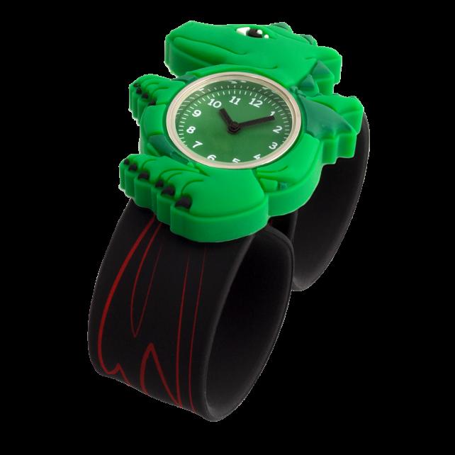 Slap watch - Funny Time Dragon Vert