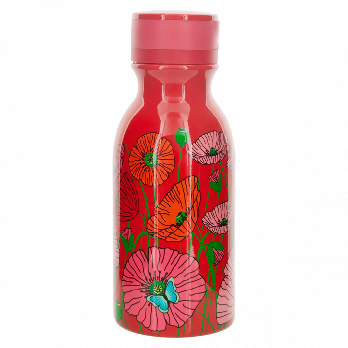 Thermoskanne 40 cl - Mini Keep Cool Bottle Coquelicots