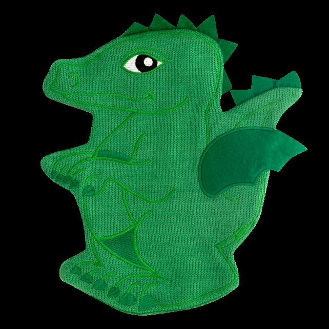Hot water bottle - Hotly Dragon Vert