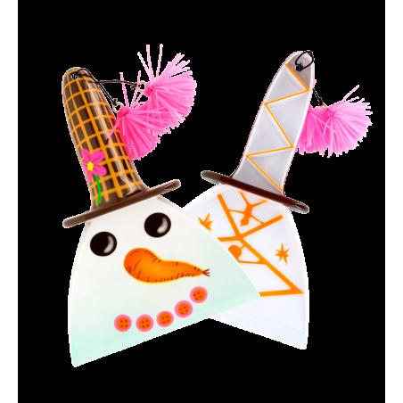 Raclette à glace - Ice Screen Snowman