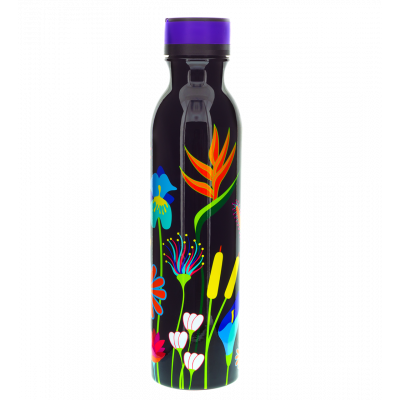 Bouteille thermos isotherme - Keep Cool Bottle - Jardin fleuri