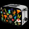 Toaster with European plug - Toast'in 2 Jardin fleuri