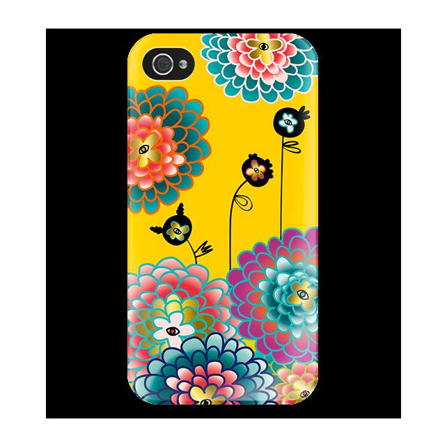 I Cover 4 - Coque pour iPhone 4/4S Dahlia