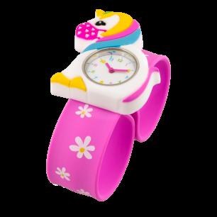 Orologio bambini - Funny Time - Unicorno con mascherina