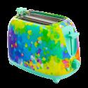 Toaster with European plug - Tart'in Jardin fleuri