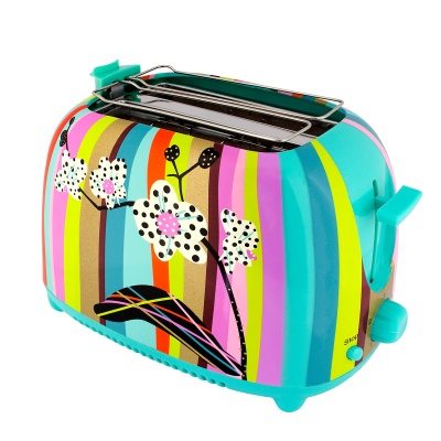 Toaster with European plug - Tart'in - Orchid