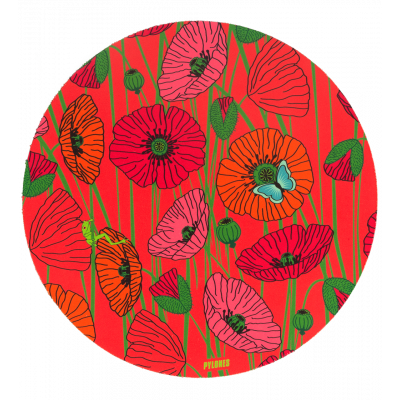 Mouse pad - Tapiron - Coquelicots