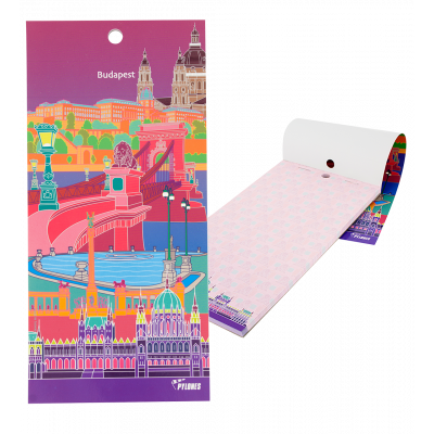 Magnetic memo block - Notebook Formalist - Budapest