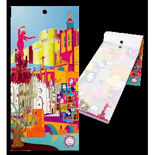 Bloc note magnétique - Carnet Formalist City - Avignon