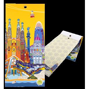 Magnetic memo block - Notebook Formalist - Barcelona