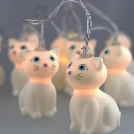 Lichterketten - Mummy Cat Lights