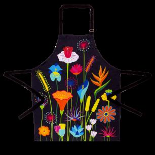Grembiule - Maestro - Jardin fleuri