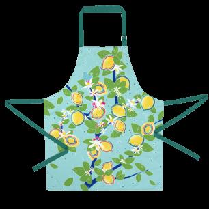 Apron - Maestro - Lemon