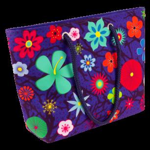 Einkaufstasche - My Daily Bag 2 - Blue Flower