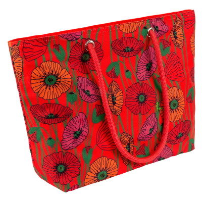 Shopping bag - My Daily Bag 2 - Coquelicots