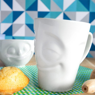 Mug en porcelaine 35cl - Emotion