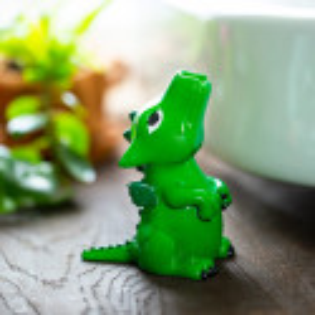 Zahnbürstenhalter - Dragonsmile Grün