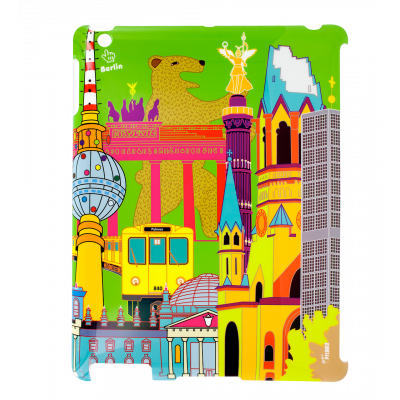 Case for iPad 2 and iPad retina - I Big Cover - Berlin