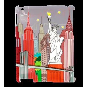 Schale für iPad 2 und iPad Retina - I Big Cover - New-York
