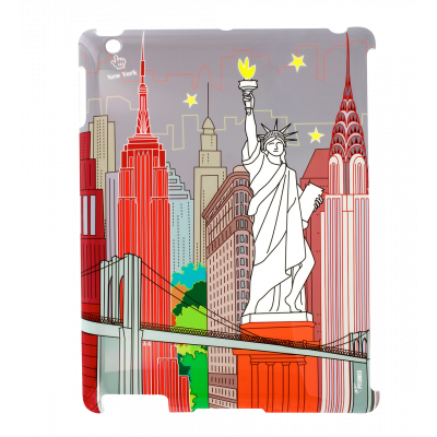 Case for iPad 2 and iPad retina - I Big Cover - New-York