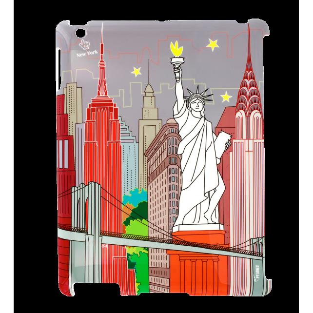 Schale für iPad 2 und iPad Retina - I Big Cover New-York