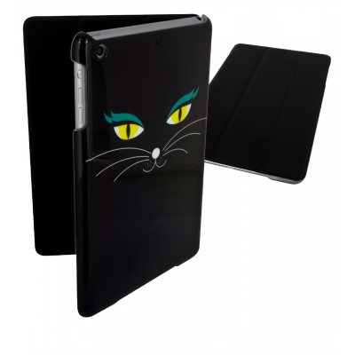 Case for iPad mini 2 and 3 - I Smart Cover - Black Cat