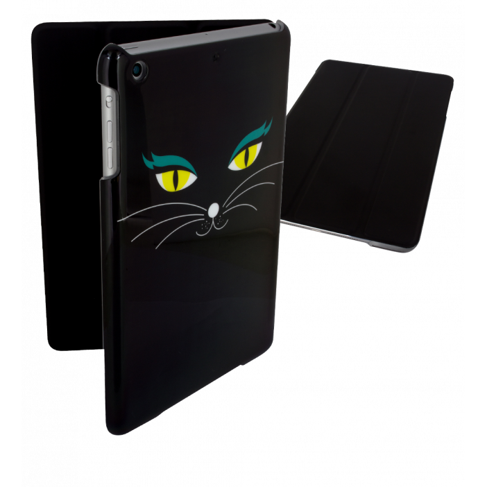 I Smart Cover - Coque pour iPad mini 2 et 3 Black Cat