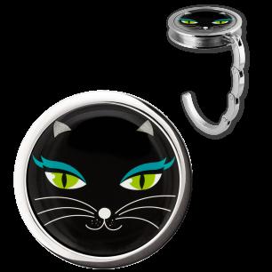 Handtaschenhalter - Dîner en Ville - Black Cat